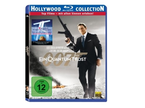 Blu-ray: James Bond – Ein Quantum Trost © MGM Home Entertainment GmbH