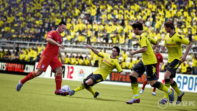 Sportspiel Fifa 12: Tackle © Electronic Arts