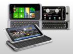 Smartphones mit Tastatur���HTC, Nokia