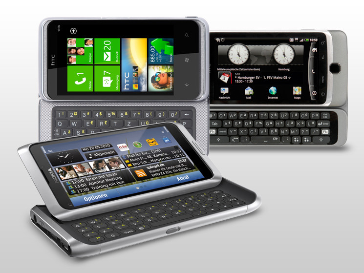 test smartphones mit echter qwertz tastatur computer bild. Black Bedroom Furniture Sets. Home Design Ideas