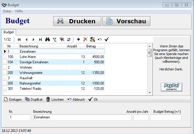 Budget 1.8.5.66 - Download - COMPUTER BILD