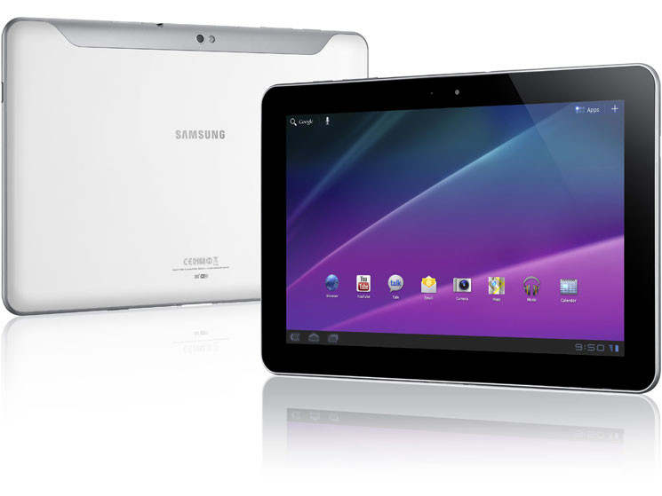 Samsung stellt Tablet-PCs Galaxy Tab 10.1 und 8.9 ...