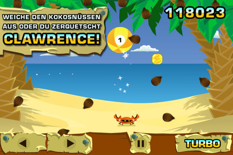 Coconut Dodge © Electronic Arts Nederland B. V.