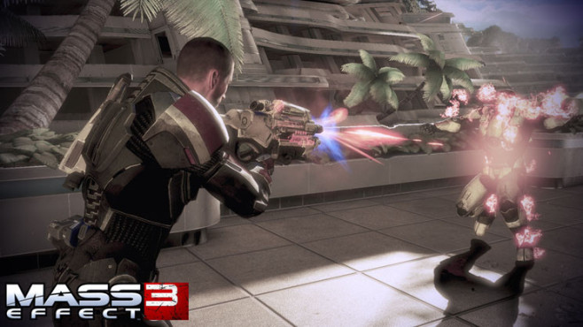 Rollenspiel Mass Effect 3: Feuer © Electronic Arts