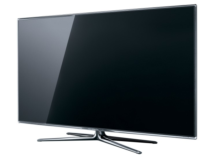 samsung ue40d7090 eleganter full hd tv mit led technik audio video foto bild. Black Bedroom Furniture Sets. Home Design Ideas