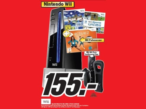 Nintendo Wii Sports Resort & EA Active 2 Pack © Media Markt
