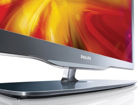 Philips-LCD-TV: 7605er-Serie Standfu� © Philips