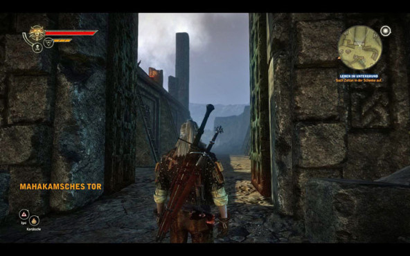Sex-Guide The Witcher 2 – Assassins of Kings: Riannon © Namco Bandai