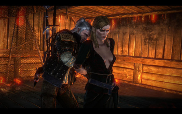 Sex-Guide The Witcher 2 � Assassins of Kings: Riannon © Namco Bandai