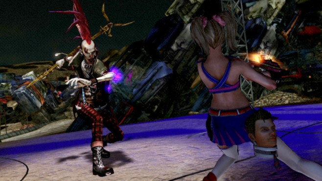 Actionspiel Lollipop Chainsaw: Punk-Zombie © Warner Bros.
