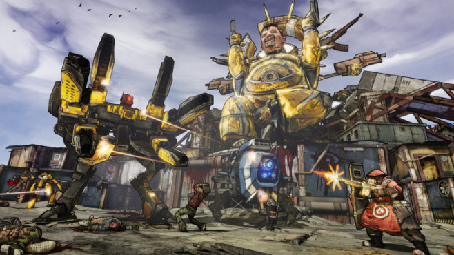Actionspiel Borderlands 2: Kampfroboter © Take-Two