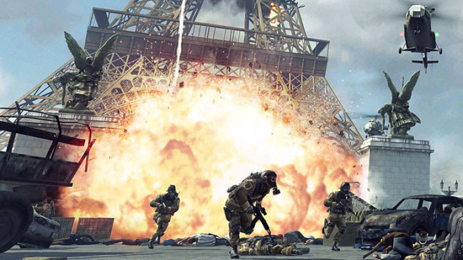 Actionspiel Call of Duty – Modern Warfare 3: Eiffelturm © Activision