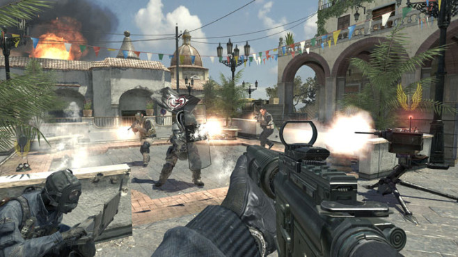 Actionspiel Call of Duty – Modern Warfare 3: Flagge © Activision-Blizzard