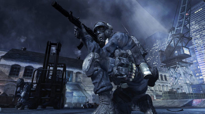 Actionspiel Call of Duty – Modern Warfare 3: Maske © Activision