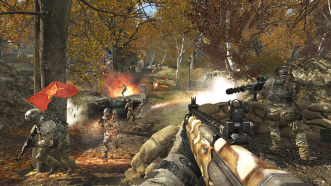 Actionspiel Call of Duty – Modern Warfare 3: Park © Activision-Blizzard
