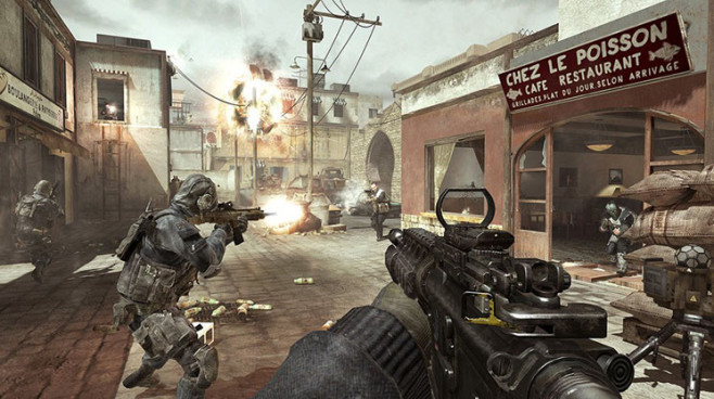Actionspiel Call of Duty – Modern Warfare 3: Schiffe © Activision