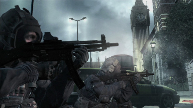 Actionspiel Call of Duty – Modern Warfare: Big Ben © Activision