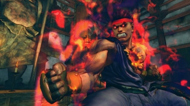 Prügelspiel Super Street Fighter 4 – Arcade Edition: Evil Ryu © Capcom
