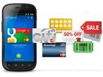 Handy mit Google Wallet ©Google