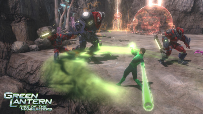Green Lantern – Rise of the Manhunters: Baseball © Interactive Entertainment