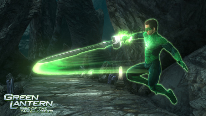 Green Lantern – Rise of the Manhunters: Schwert © Interactive Entertainment
