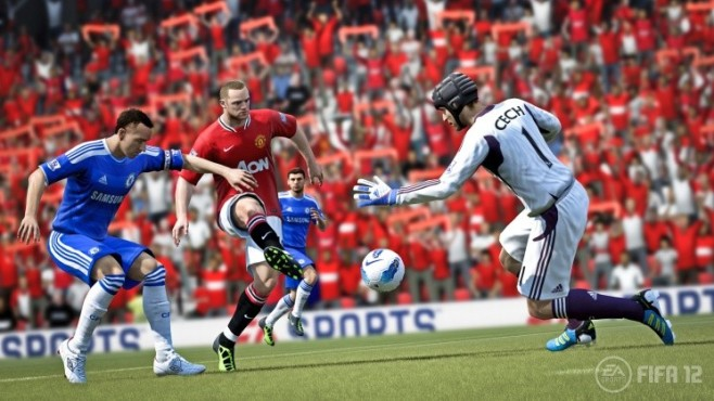 Fußballspiel Fifa 12: Rooney © Electronic Arts