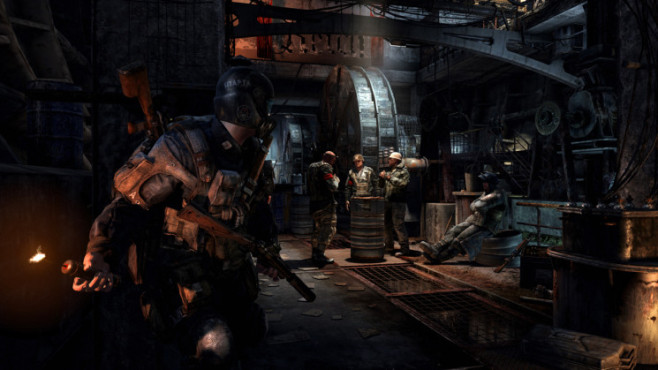 Actionspiel Metro – Last Light: Gruppe © THQ