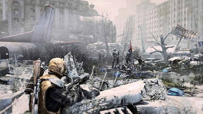 Actionspiel Metro – Last Light: Winter © THQ