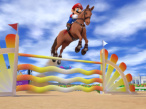 Mario & Sonic: London 2012: Springreiten © Sega