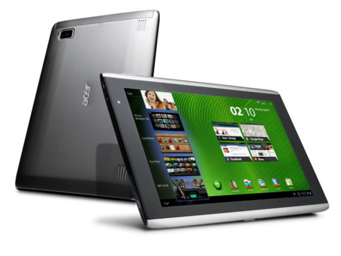 Acer Iconia A500 Tablet © Acer Deutschland