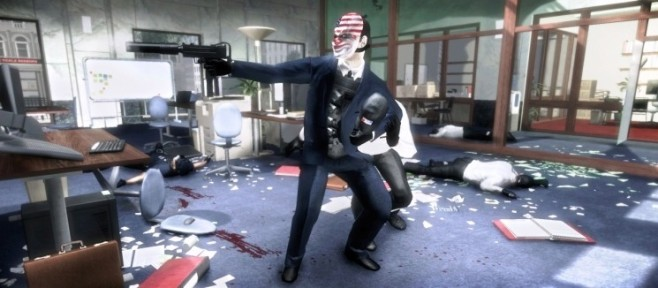 Actionspiel Payday – The Heist: Waffe © Sony