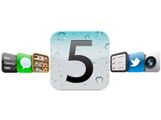 Apple iOS 5 Logo&nbsp;&copy;&nbsp;Apple