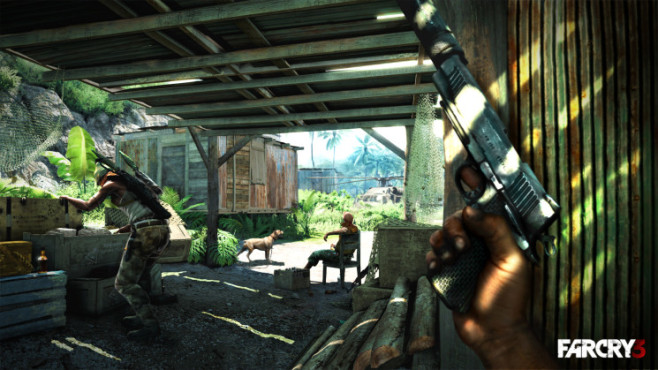 Actionspiel Far Cry 3: Dschungel © Ubisoft