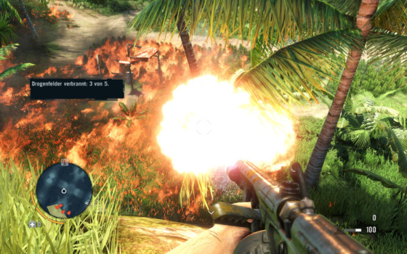 Actionspiel Far Cry 3: Flammenwerfer © Ubisoft