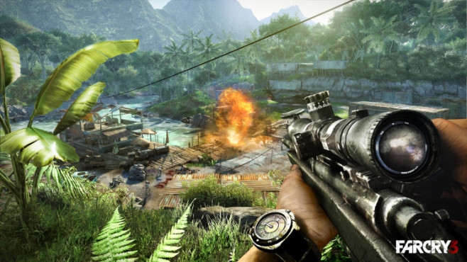 Actionspiel Far Cry 3: Umgebung © Ubisoft