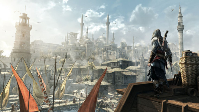 Actionspiel Assassin's Creed – Revelations: Aussicht © Ubisoft