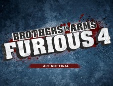 Actionspiel Brothers in Arms – Furious 4: Logo © Ubisoft