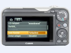 R&uuml;ckansicht: Canon Powershot SX220 HS&nbsp;&copy;&nbsp;COMPUTER BILD