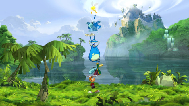 Actionspiel Rayman Origins: Pyramid Team © Ubisoft