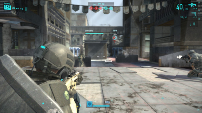 Actionspiel Tom Clancy's Ghost Recon Online: Capturing © Ubisoft