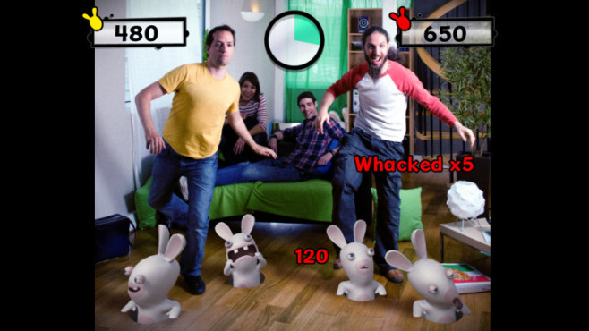 Actionspiel Raving Rabbids – Alive and Kicking: Boden © Ubisoft