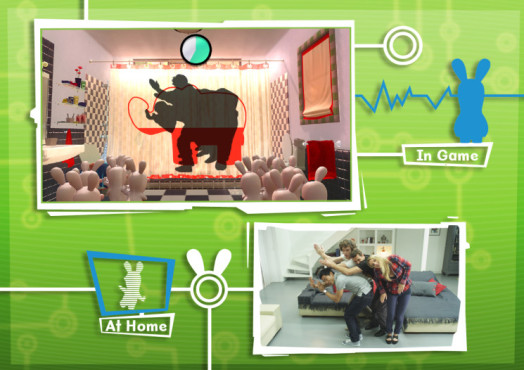 Actionspiel Raving Rabbids – Alive and Kicking: Real ©Ubisoft