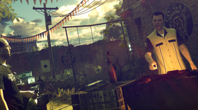 Actionspiel Hitman – Absolution: Barbecue © Square Enix