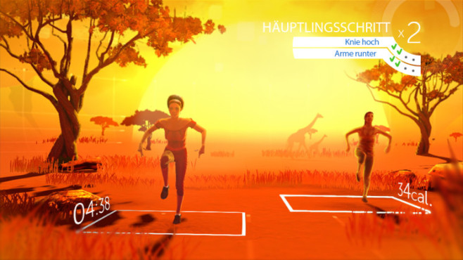 Fitness-Spiel Your Shape – Fitness Evolved 2012: Knie © Ubisoft
