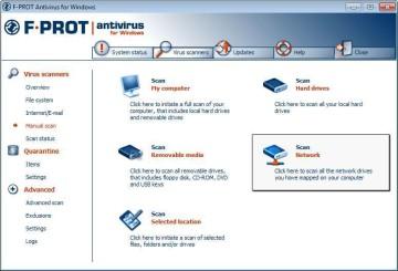 Screenshot 1 - F-Prot Antivirus (64 Bit)
