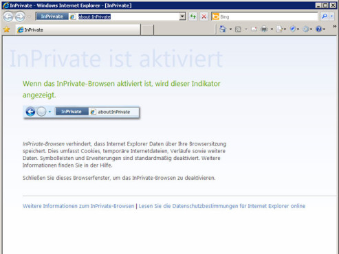 Screenshot IE © COMPUTER BILD