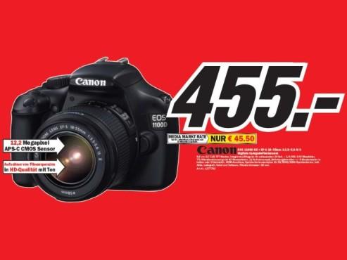 Canon EOS 1100D Kit ©COMPUTER BILD