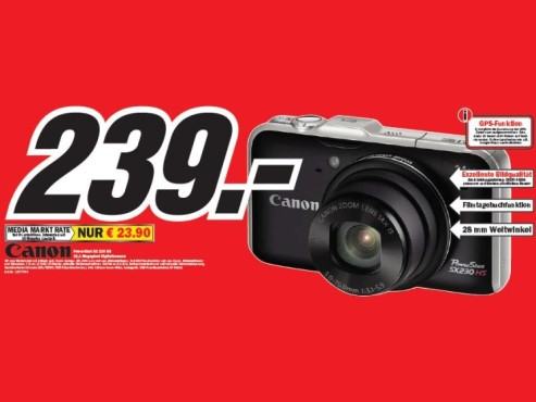 Canon Powershot SX 230 HS ©COMPUTER BILD