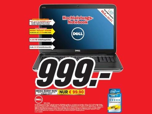 Dell XPS L702x ©COMPUTER BILD