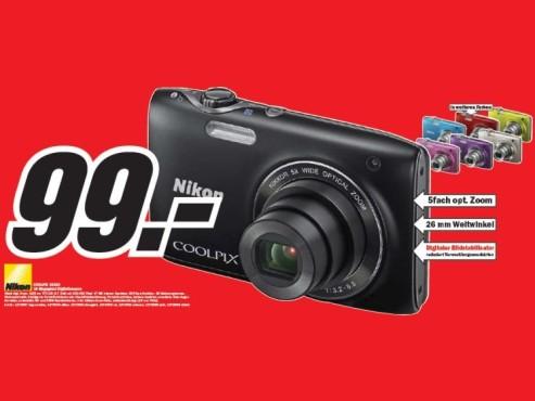 Nikon Coolpix S3100 ©COMPUTER BILD